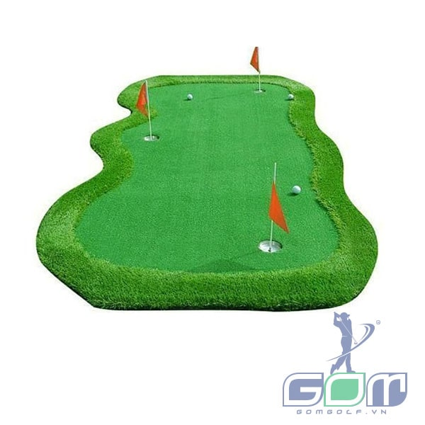 Thảm tập golf putting gomip28 gomgolf